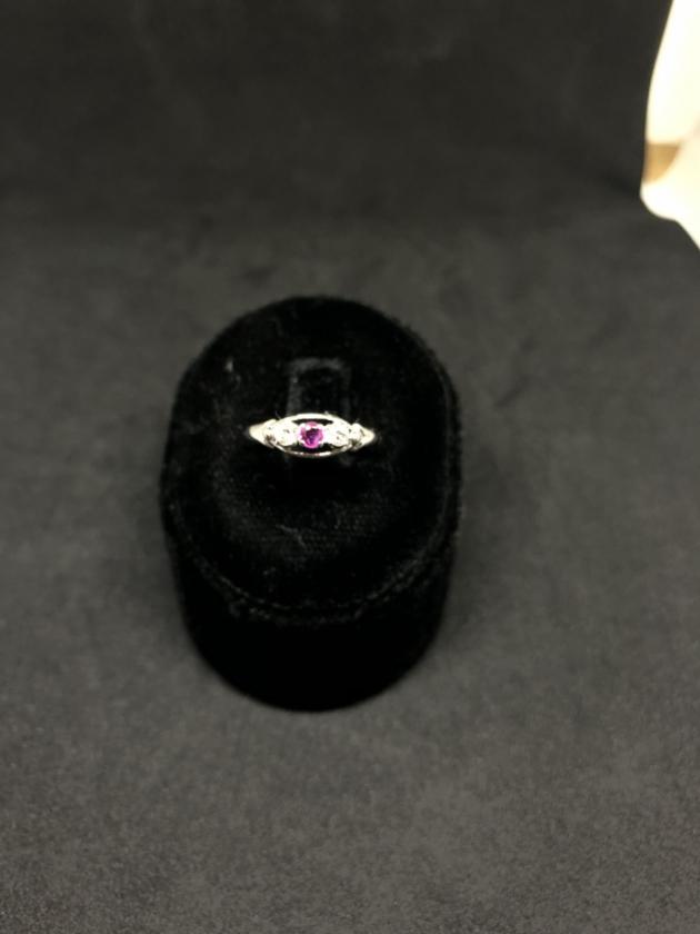 紅寶鑽石戒指 1