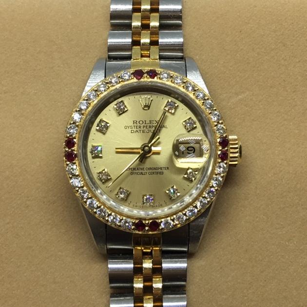 勞力士女錶69173 (己售出) 2