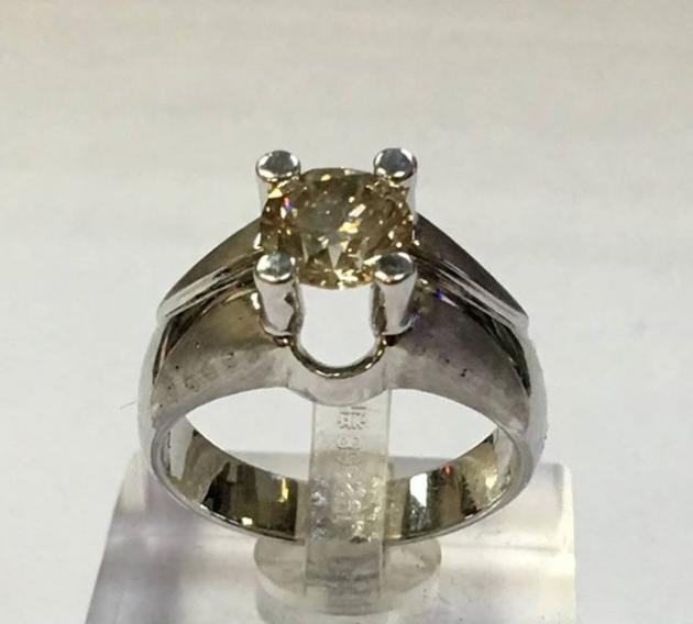 1克拉 天然鑽石戒指 1